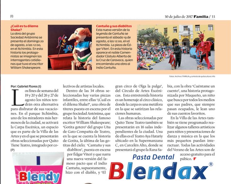 2017 07 30 - Revista Familia - Edición Impresa - El verano de las artes un espacio para los niños- edicio-2809310041031CA4-E2C9-4507-AD37-8B9E46373760_30072017_-FAM20170730-33