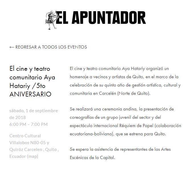 2018 08 29 - El Apuntador 04