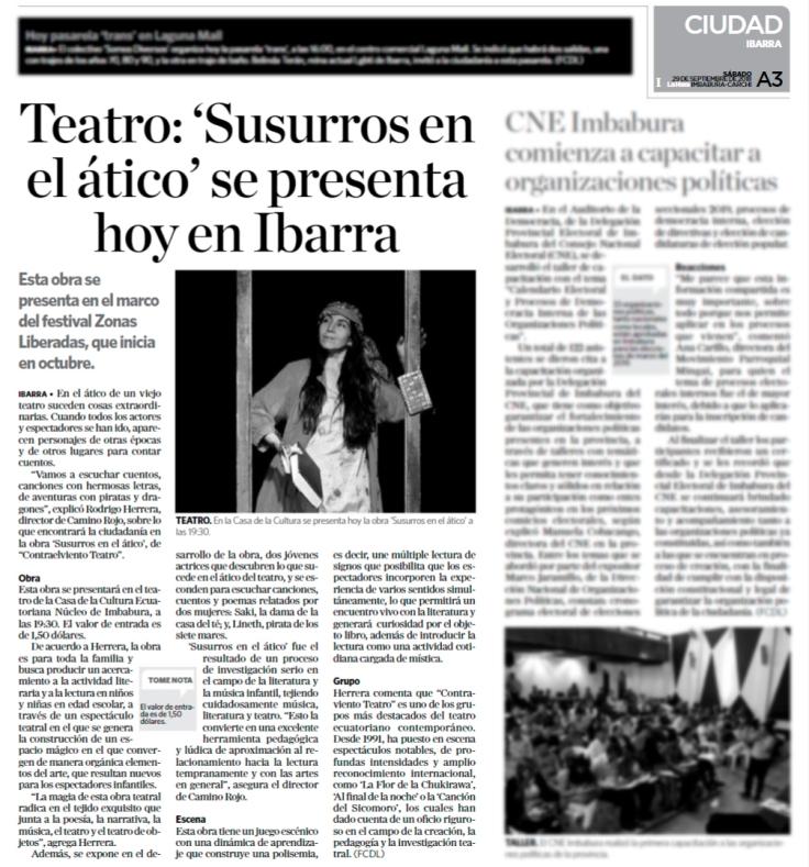 2018 09 29 - Diario La Hora Imbabura - Contraelviento A3.jpg