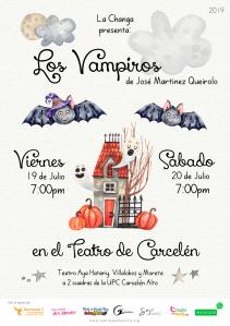 Los Vampiros en Teatro de Carcelén Aya Hatariy