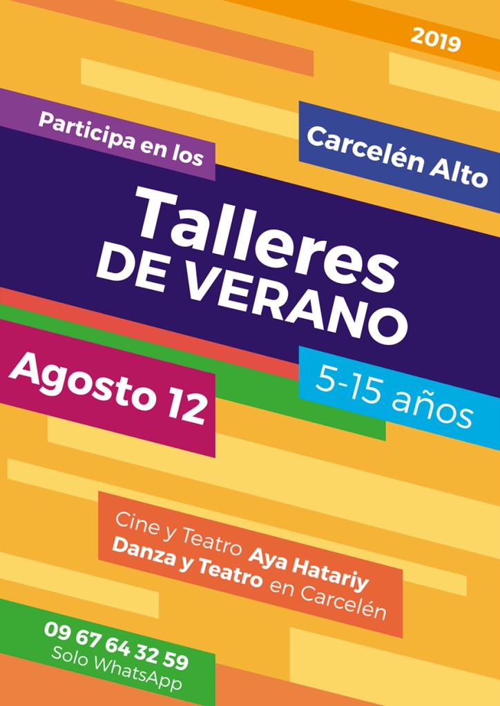 Talleres de Verano en el Teatro de Carcelén Aya Hatariy