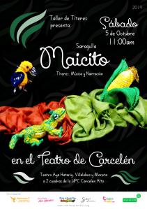 Maicito en el Teatro de Carcelén 2019